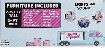 Что входит в набор с домом для кукол ЛОЛ Сюрприз 85 сюрпризов