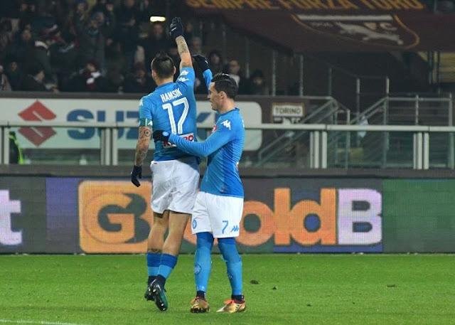 Berita Terhangat [Video] Cuplikan Gol Torino 1-3 Napoli: Partenopei Klaim Capolista