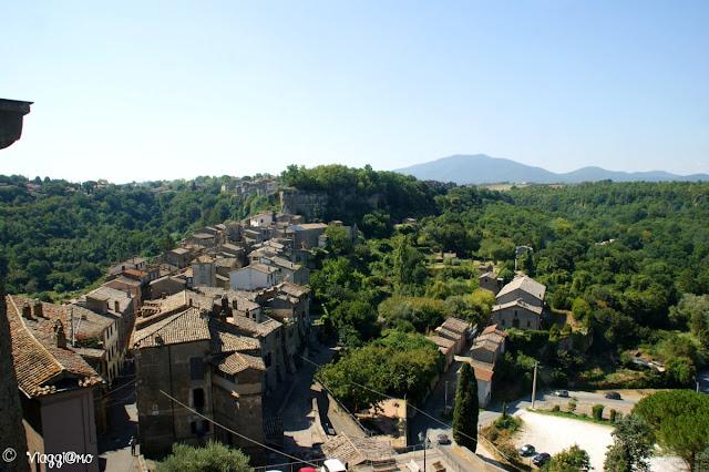 Il borgo medievale di Bomarzo