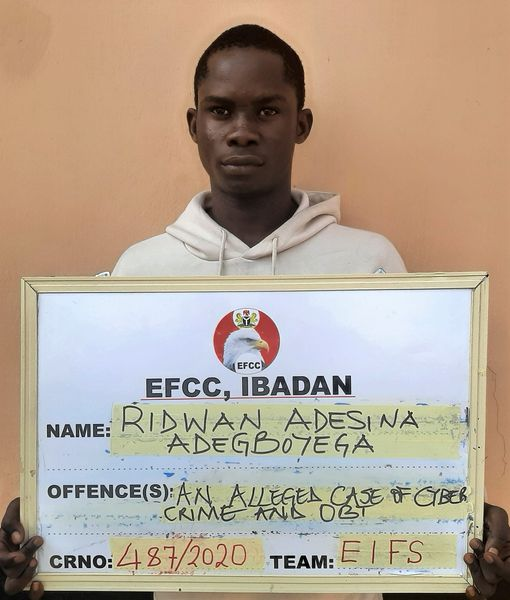 EFCC Docks Man for Cyber Crime in Ibadan