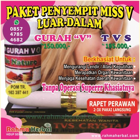 Gurah V dan TVS Paket penyempit miss v LUAR-DALAM