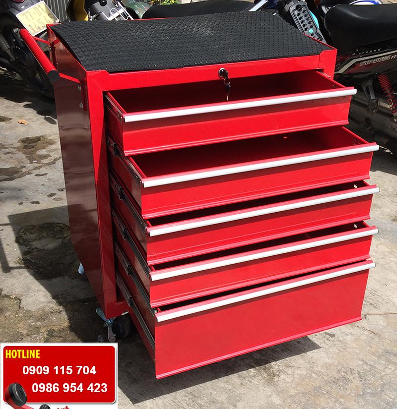 Tủ đồ nghề sửa xe máy, ô tô 5 ngăn kéo giá rẻ tại tp HCM