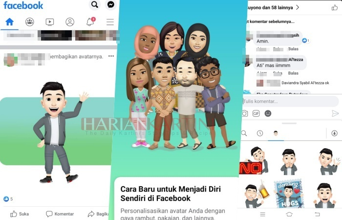 Cara Bikin Avatar Facebook Karaktermu Untuk Android dan iPhone IOS