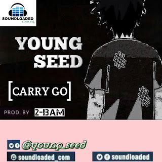 """NICE HOOD ENTERTAINMENT STAR  Young Seed is gradually proving to be the   winning act in His genre. After Dropping   some of his  Previous trackwhich gained   popularity,  Young Seed shows He has got it all by    going solo on this new track """"Carry Go"""" Prod by   2Bam  delivered in his local And Internatioal dialect.  Certainly, music is beyond language as   anyone will surely love this banger.  Download Young Seed Carry Go Below."""