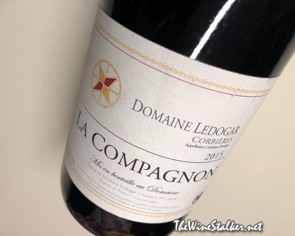 Domaine Ledogar La Compagnon Corbières 2015