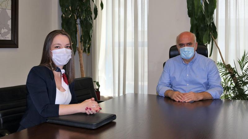 H δικηγόρος Αλέβ Σιαμπάν Ογλού ειδική σύμβουλος της Περιφέρειας ΑΜ-Θ σε θέματα Δημόσιας Υγείας