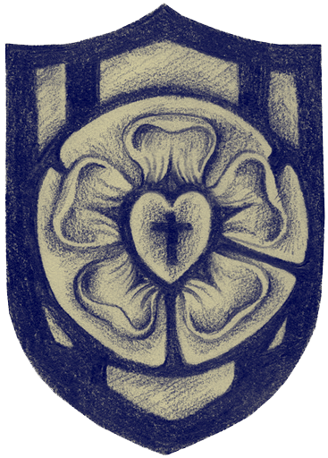 Lutheran Rose And Shield Christian Clip Art Review
