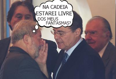 Lula Livre, Renan Calheiros, Lobão e Sarney