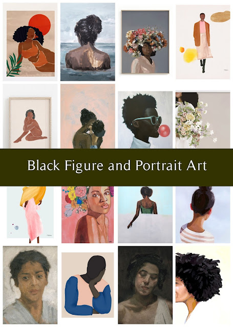 A Round-Up of Black Figure Art in a Variety of Styles