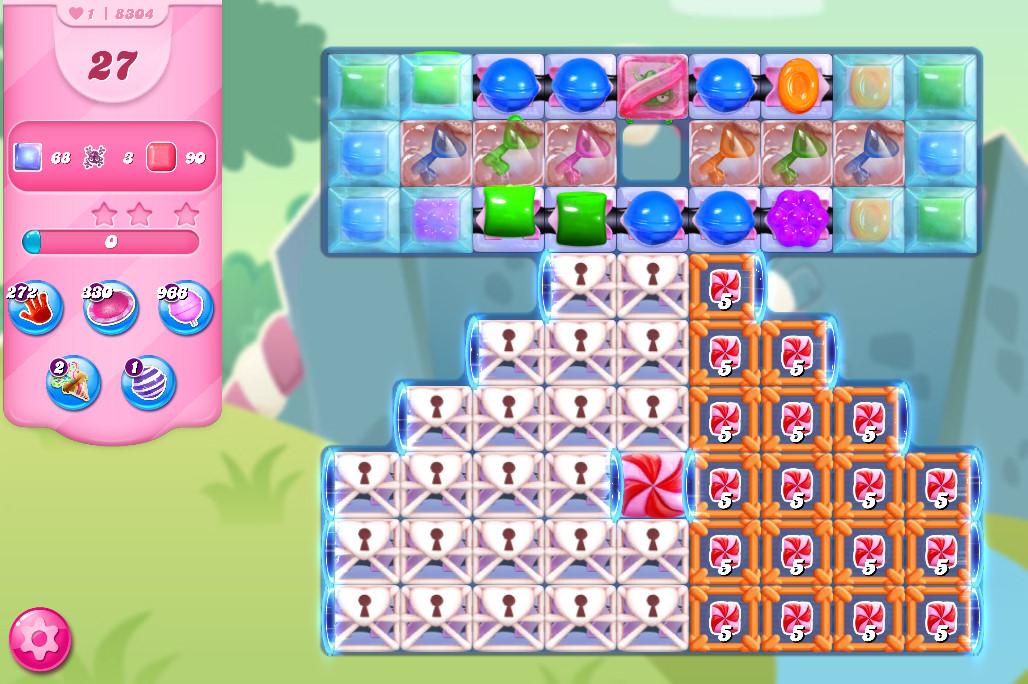 Candy Crush Saga level 8304