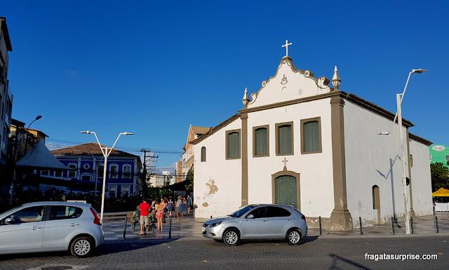 Largo da Dinha e Igreja de Santana, Rio Vermelho, Salvador