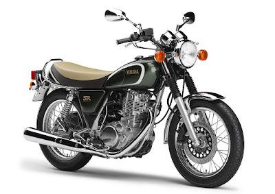 2016 Yamaha SR400 retro hd pics//