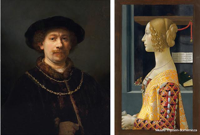 Obras do acervo do Museu Thyssen-Bornemisza, Madri