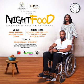 Showing this September: NIGHT FOOD!