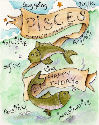 Pisces happy birthday