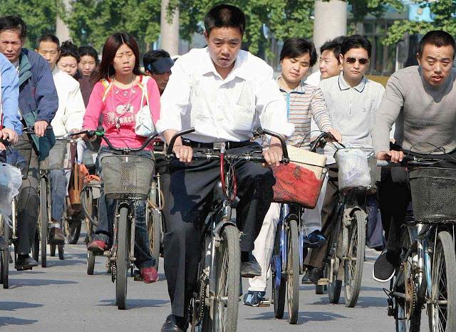 O passado da China de Mao Tsé Tung prefigura o transporte ambientalista futuro