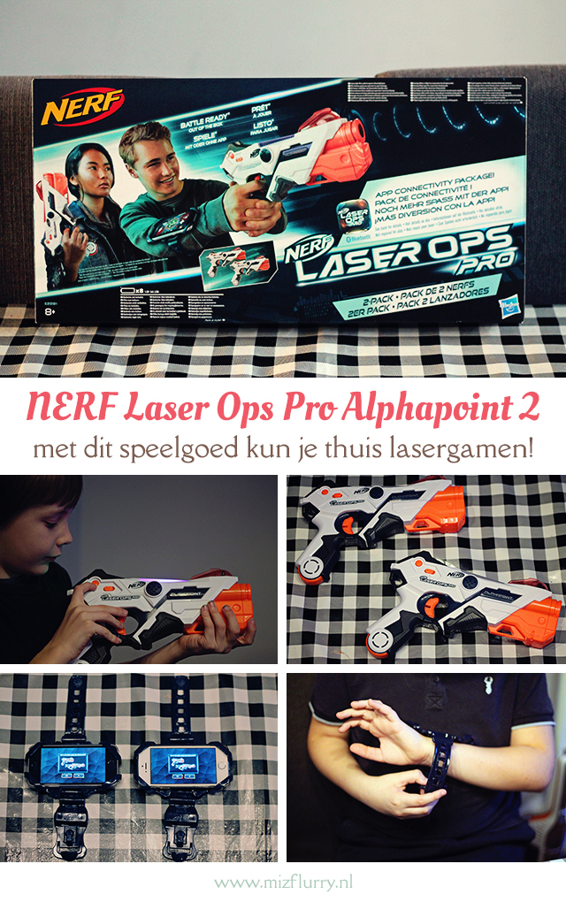 review NERF Laser Ops Pro Alphapoint 2 pinterest