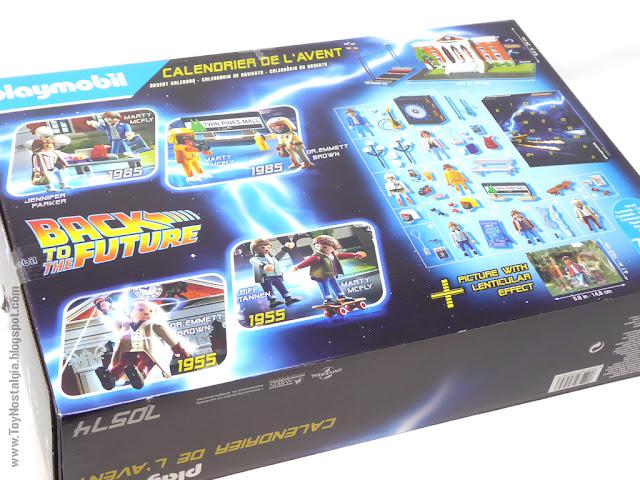 Caja Dorso - Playmobil Regreso al Futuro Calendario de Adviento (Playmobil Back To The Future - Calendario de Adviento)