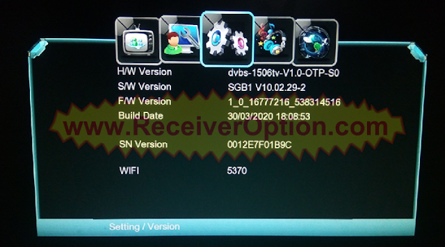 1506TV 512 4M NEW SOFTWARE WITH G-SHARE-PLU & ECAST OPTION