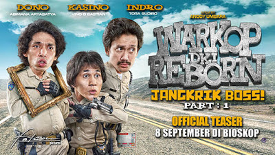 Film Warkop DKI Reborn (Jangkrik Boss 2016)
