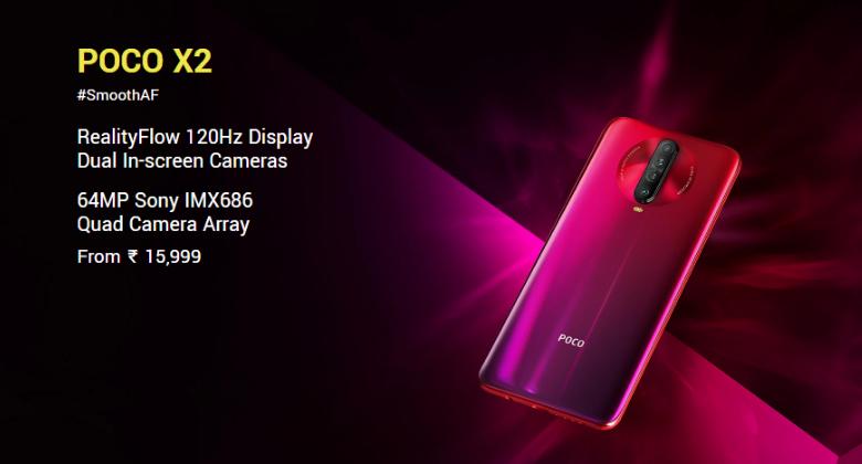 Poco X2 Price In India & Specification