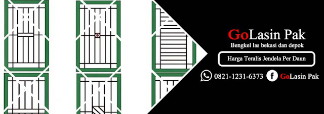harga teralis jendela minimalis per daun