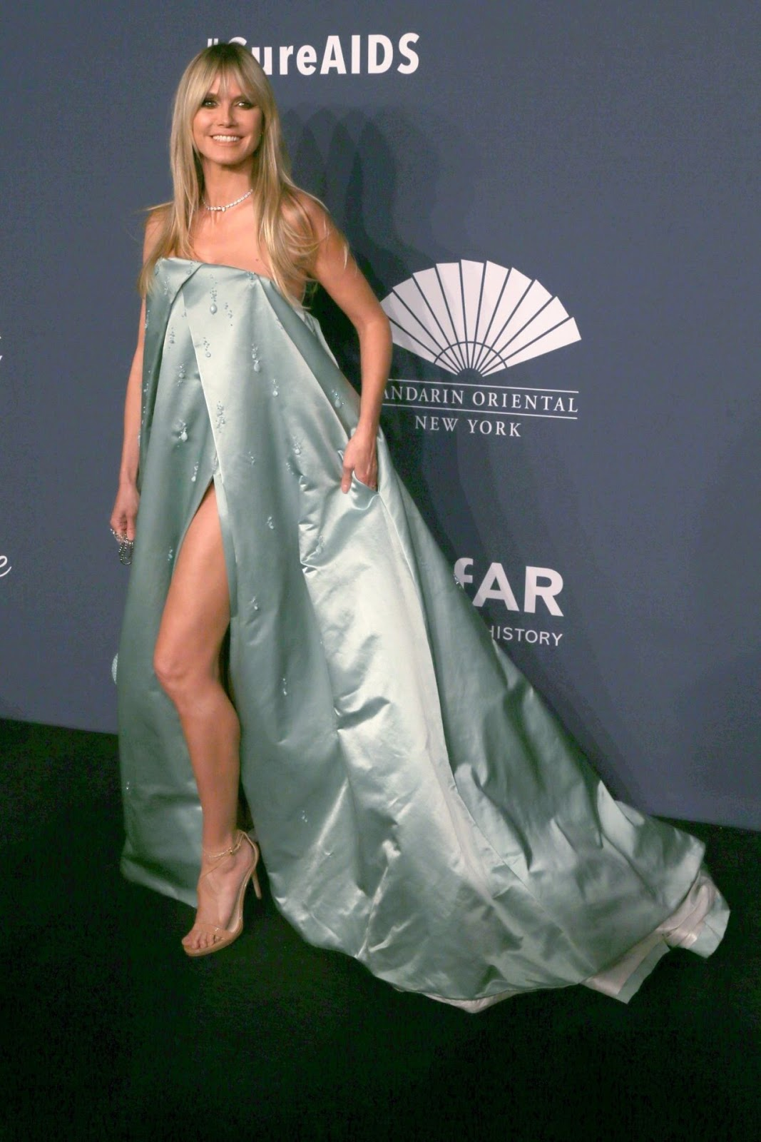 Heidi Klum - 22nd Annual amfAR Gala Benefit For AIDS Research in NYC