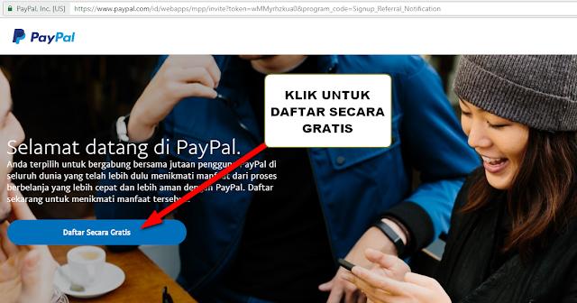 """Cara Daftar Paypal Tanpa Kartu Kredit - Bagi seorang Internet Marketer, Affilate Marketer, dan blogger yang hendak menjadikan aktivitas online menjadi lebih bermanfaat baik dari segi menghasilkan uang, menyimpan uang secara online, dan berbelanja online lintas negara pasti sudah tidak asing lagi dengan apa itu Paypal.    Pengertian Paypal sendiri dalam motivasee.com disebutkan sebagai """"jasa penghubung atau biasa disebut dengan istilah """"broker"""" yang paling populer saat ini di dunia terutama untuk kebutuhan transaksi online manca negara (Internasional). Selanjutnya Paypal dapat dimanfaatkan sebagai transaksi seperti: untuk bisnis online, jual beli barang, affilate marketing, menerima pembayaran dari pihak lain secara online, termasuk untuk mempunyai kesempatan mendulang uang secara online.    Umumnya Paypal dimanfaatkan uang oleh kalangan Internet Marketer atau orang-orang yang menjalankan bisnis online. Hal ini dikarenakan Paypal merupakan rekening online dan digunakan untuk berkirim dan berterima uang secara online.    Mengapa Memilih Paypal?    Alasan mendasar mengapa banyak kalangan internet marketer, affilate marketer, dan pebisnis online memilih Paypal dikarenakan selain proses pendaftarannya gratis dan mudah. Paypal banyak digunakan oleh banyak orang di seluruh dunia untuk melakukan transaksi dari internet.    Sehingganya kesempatan ini dilihat sebagai peluang untuk menciptakan hubungan dan koneksi yang baik terutama untuk kemudahan dalam melakukan transaksi jual beli online ke sesama dengan rekening Paypal.    Kita lihat saja pada situs-situs online terutama situs jual beli beli online dari luar negeri. Kebanyakan alat pembayaran yang mereka gunakan beberapa di antaranya tertaut juga metode pembayaran menggunakan Paypal. So bagi yang belum memiliki kartu kredit maka solusi mudah untuk bisa bertransaski online lintas negara tentunya harus memiliki rekening online di Paypal.    Oleh karena itu dalam tulisan kali ini saya akan membagikan """" Cara Daftar Paypal Tanp"""