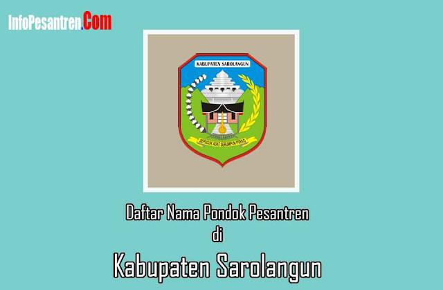 Pesantren di Kabupaten Sarolangun