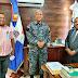 Director Regional Oeste de la Policía visita al Procurador Fiscal titular en San Juan