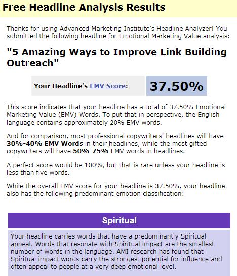 free headline analysis advanced marketing institute