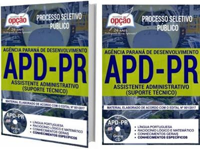 Apostila concurso APD-PR 2017