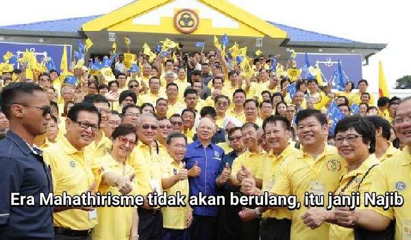 Era Mahathirisme Tidak Akan Berulang, Itu Janji Najib