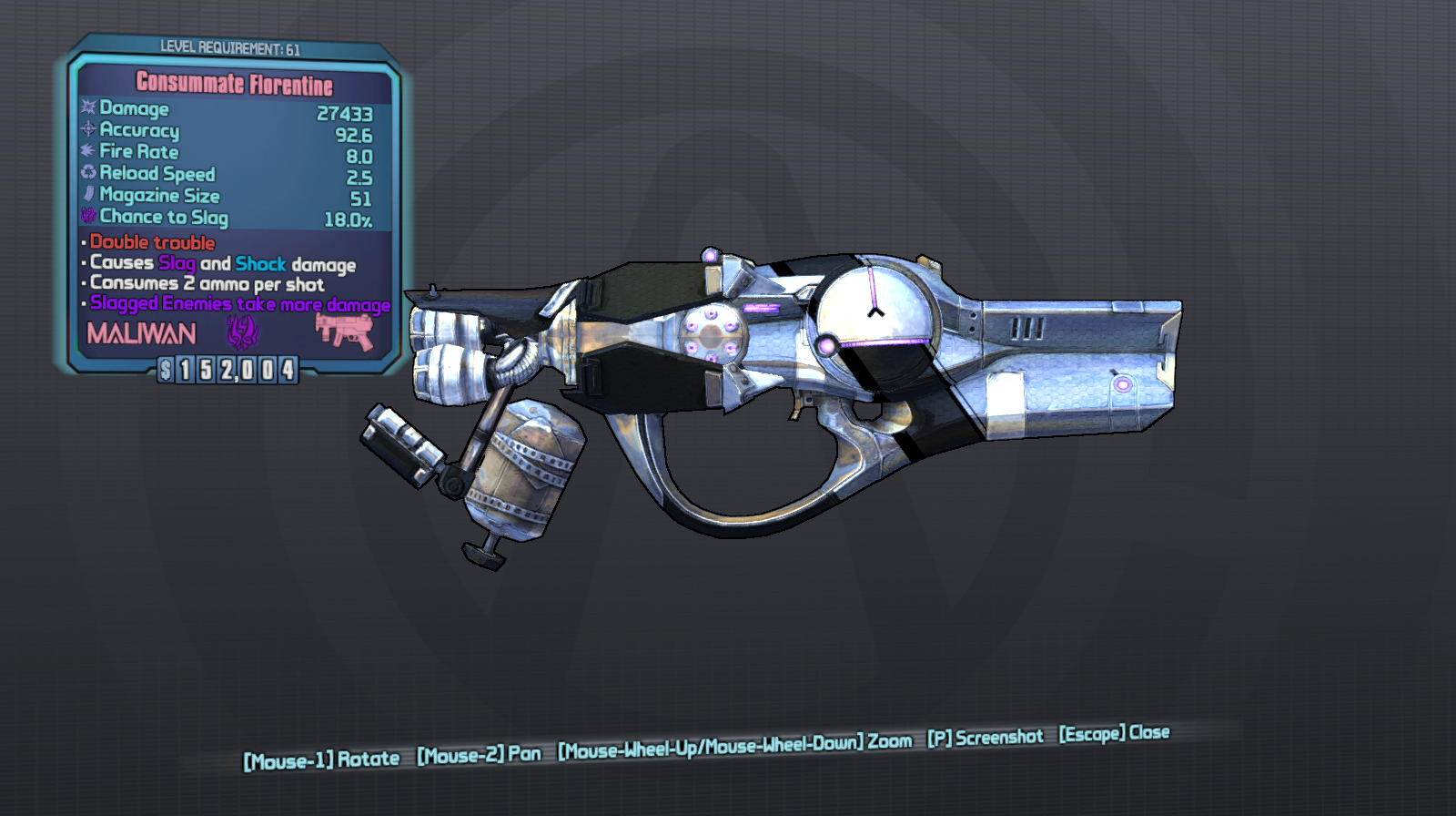 Florentine: Borderlands 2 Seraph Weapons Guide | Borderlands