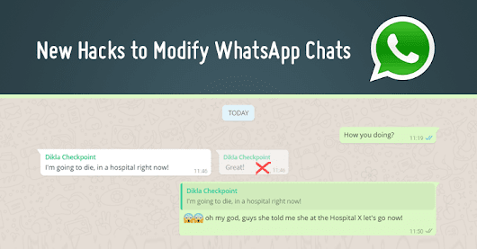 WhatsApp Flaw Lets Users Modify Group Chats to Spread Fake News