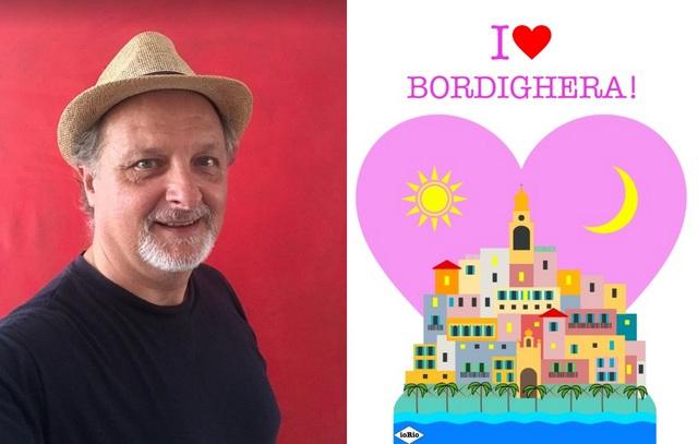 """Enzo Iorio, ecco """"I Love Bordighera"""""""
