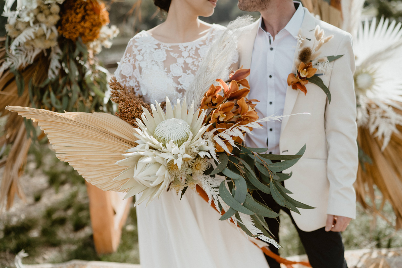 TERRACOTTA + GREENERY WEDDING STYLING