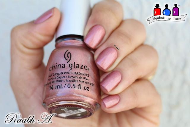 China Glaze, China Glaze OMG, China Glaze TTYL, coral, Esmalte Holográfico, Raabh A. 2018