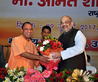 lucknow-amit-shah-grand-welcome
