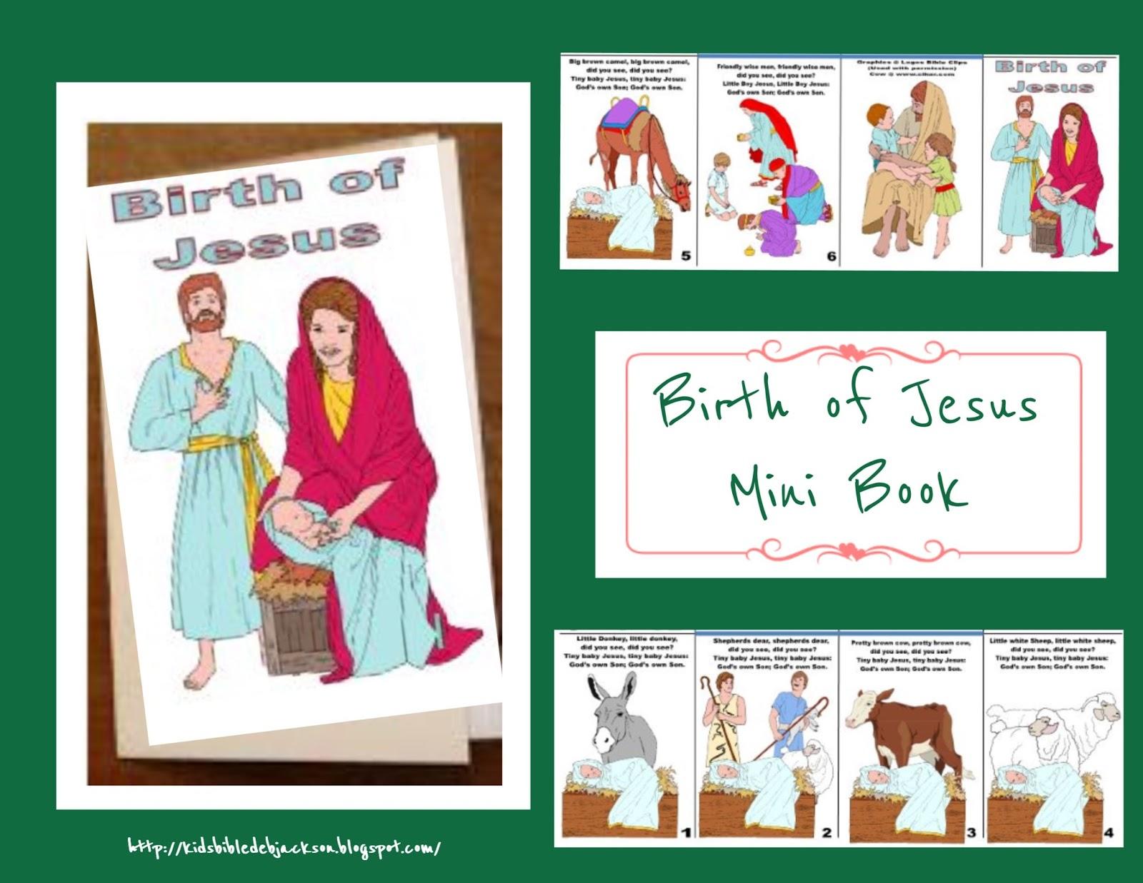 Bible Fun For Kids Tiny Baby Jesus Flip Chart Song
