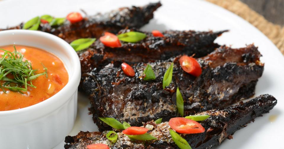 resepi ikan sardin berkuah percik  enak  mudah  dapur kak tie Resepi Kuah Asam Untuk Ikan Bakar Enak dan Mudah