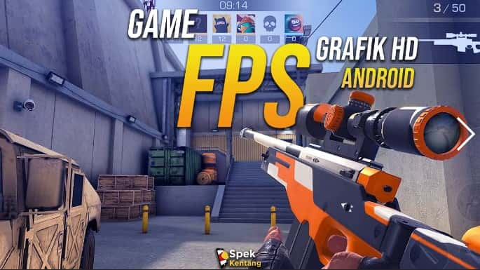 Game Android FPS Grafik HD Terbaik 2020