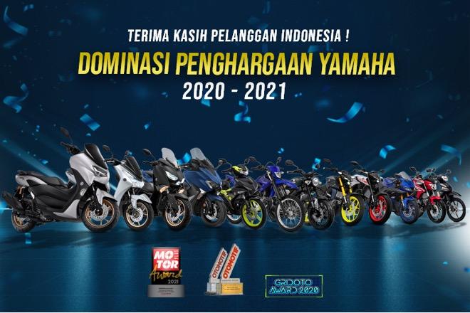 Raih 11 Penghargaan, Yamaha Pertahankan Dominasinya di Ajang Penghargaan Bergengsi