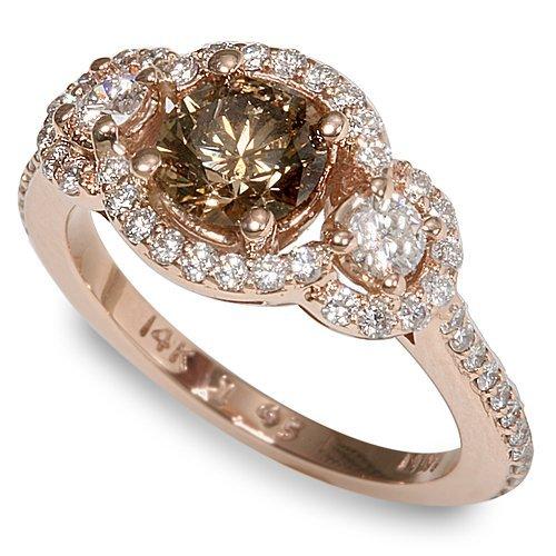 Royal Wedding Accessories Chocolate Diamond Engagement Rings