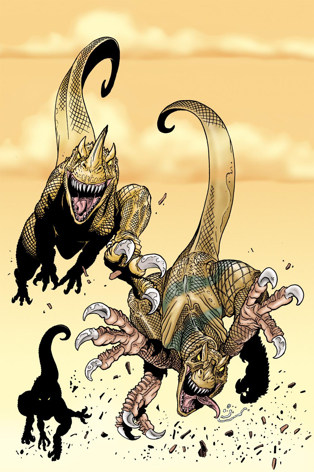 Age of Reptiles Omnibus Chap 5 - Next Chap 6