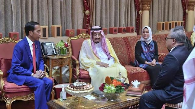 Ucapkan Selamat Idul Adha, Ini Percakapan Jokowi-Raja Salman Via Telepon