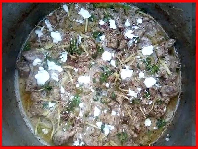 Beef White Karahi Gosht Eid Recipe