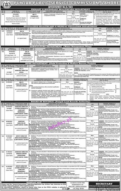 ppsc-jobs-2021-advertisement-no-18-2021