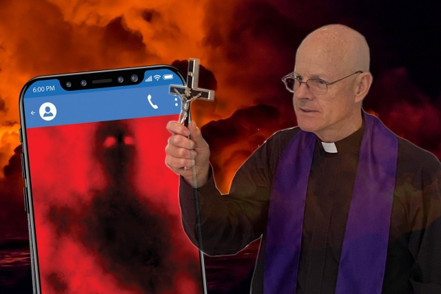 Heboh Pendeta Amerika Serikat Sebut Setan Bisa Kirim SMS