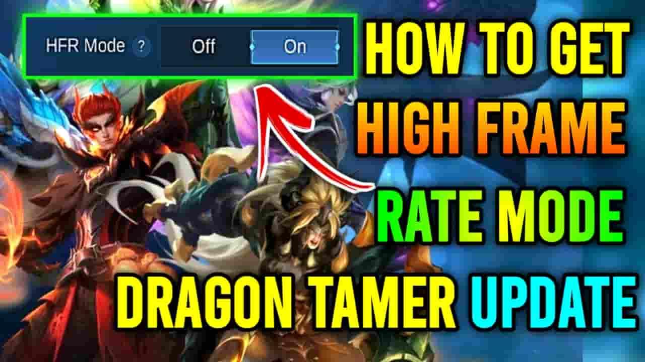 mlbb hfr mode dragon tamer
